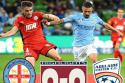"Melbourne City - Adelaide United <span style=""white-space: nowrap;"">0-0</span>"