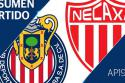 "Club Guadalajara - Club Necaxa <span style=""white-space: nowrap;"">1-2</span>"
