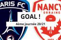 "Paris FC - Nancy <span style=""white-space: nowrap;"">0-2</span>"