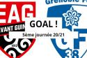 "Guingamp - Grenoble <span style=""white-space: nowrap;"">1-0</span>"