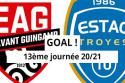 "Guingamp - Troyes <span style=""white-space: nowrap;"">1-2</span>"